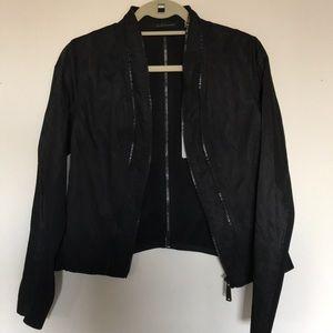 Elie Tahari Jacket - light jacket / rain coat - S